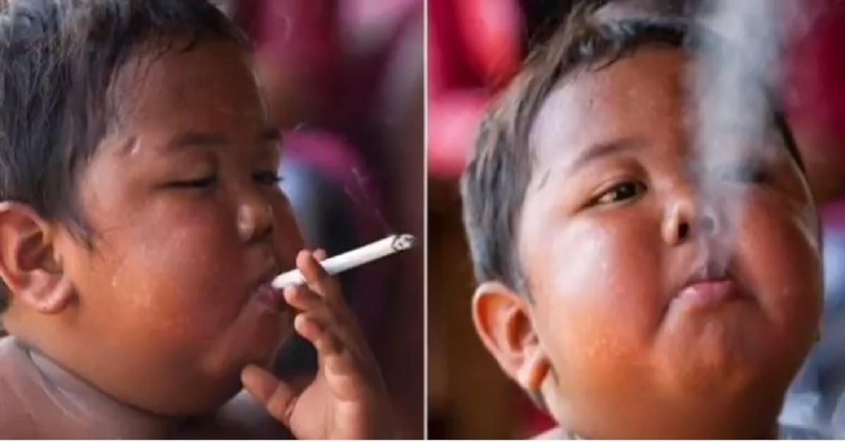 1300x0 1586346161 5e5e353666fd6 1 - Lembra do bebê que fumava 40 cigarros por dia? Veja como ele está atualmente