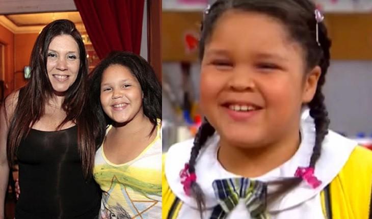 47475588e94e06c5a2f3 - A filha de Simony, que quando criança era chamada de gorda e feia, cresceu e se tornou uma bela mulher