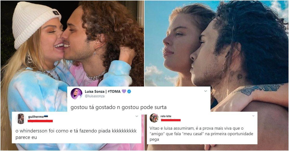 ult collage 17 2 - Luísa Sonza assume relacionamento com o cantor Vitão e publicou 6 fotos aos beijos, e Windersson virou piada na web