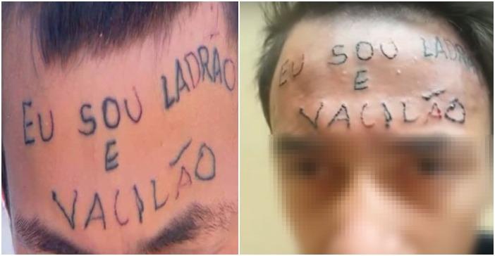 """ultimas collage 72 - Lembre-se do jovem com """"ladrão e vacilão"""" gravado na testa? Veja como ele esta agora"""