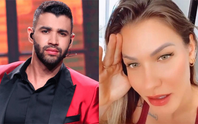 """45454 - Gusttavo Lima tem traição divulgada por jornalista e Andressa Suita teria feito o flagra em estacionamento: """"Com mulher casada"""""""