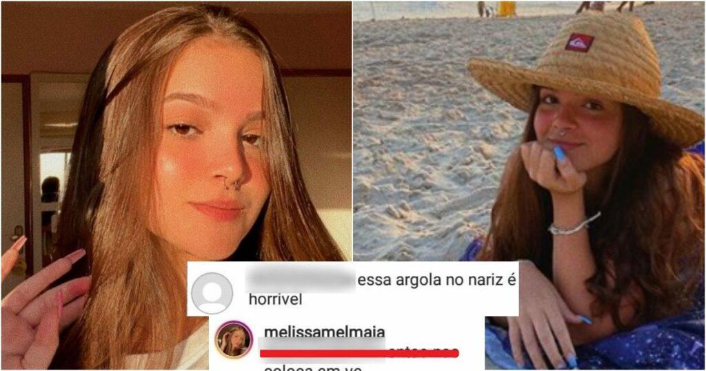 ult collage 18 1024x538 - Mel maia, aparece com piercing e seguidor critica mas ela responde com sinceridade