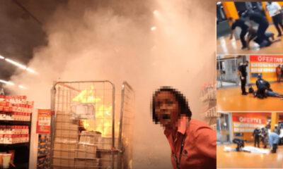 4515 400x240 - Lojas do Carrefour são invadidas em todo Brasil em protesto pela morte de João Alberto, SP teve unidade incendiada; veja o vídeo