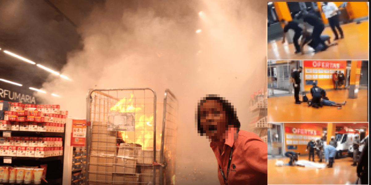 4515 - Lojas do Carrefour são invadidas em todo Brasil em protesto pela morte de João Alberto, SP teve unidade incendiada; veja o vídeo