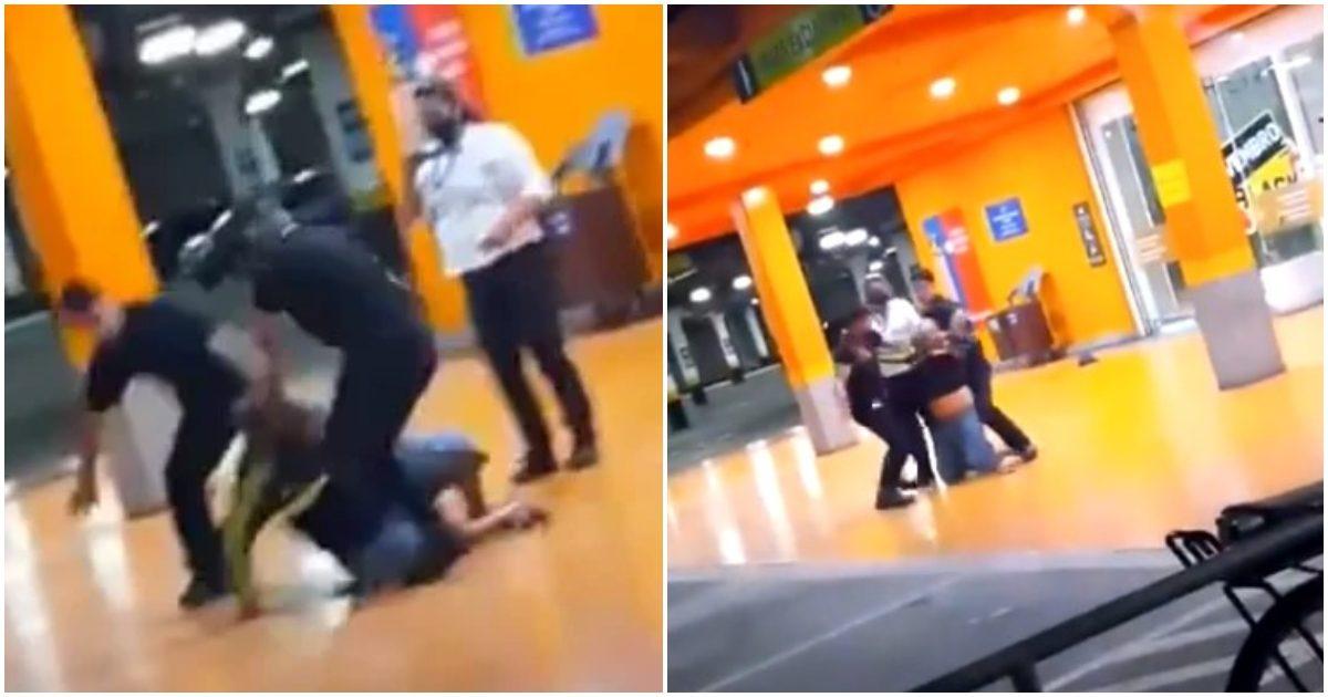 que horror - Homem negro é espancado até a morte pelos seguranças do carrefour; veja o vídeo