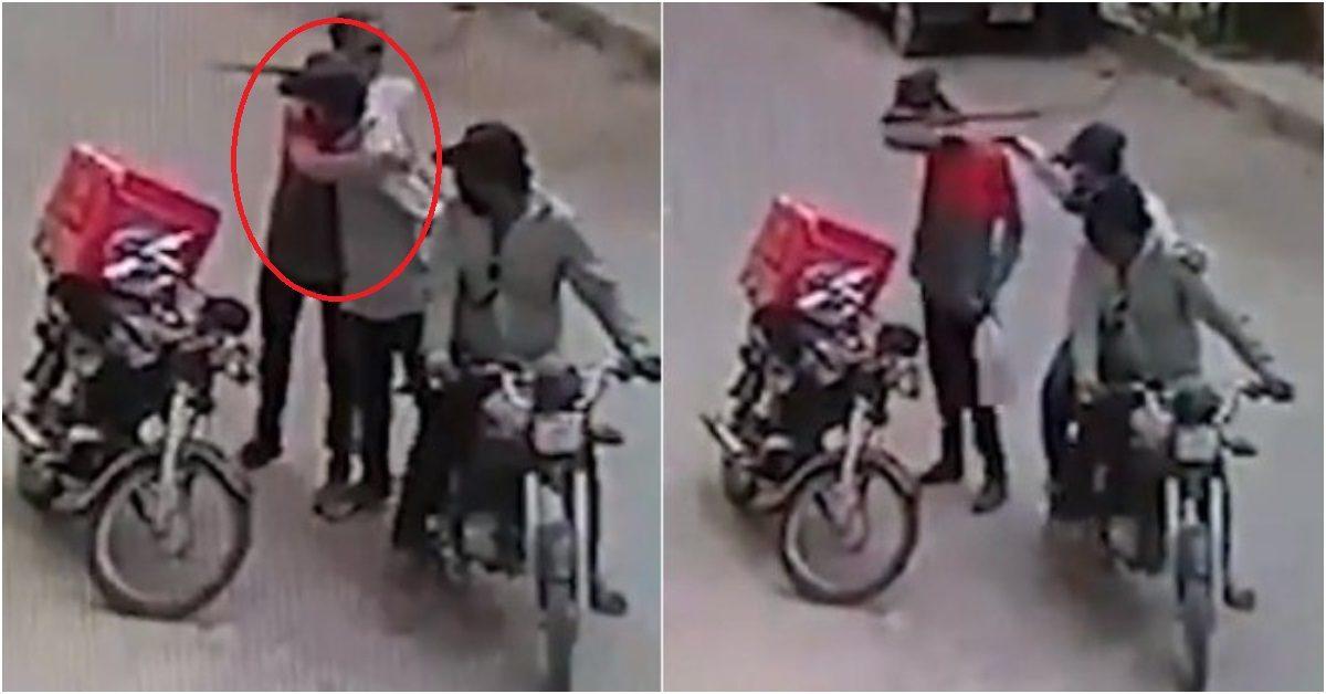 ult collage 40 - Ladrões se comovem com choro de motoboy e roubo acaba em algo inusitado; veja as imagens