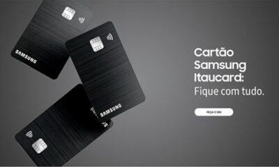 Itaucard samsumg 400x240 - Samsung lança cartão de crédito com anuidade grátis no Brasil; e usuários terão descontos na compra de produto da marca