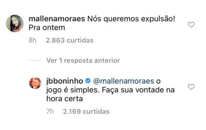 bbb21 paredao fake 45 - BBB21; Boninho responde os fãs sobre os pedidos de expulsão de Karol Conká; Confira