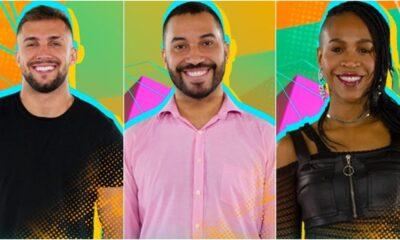 collageparedao karolconka 400x240 - Enquete BBB21: Arthur, Gilberto e Karol Conká estão no paredão; quem você quer eliminar do reality? Vote aqui