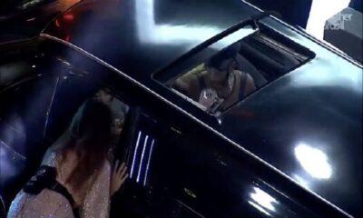 lumena juliette 400x240 - BBB21; Lumena revolta a web ao coloca taça na cara de Juliette; vídeo!