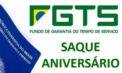 saque aniversario fgts 400x240 - Divulgada o calendário do saque-aniversário do FGTS! Veja quando vai receber.