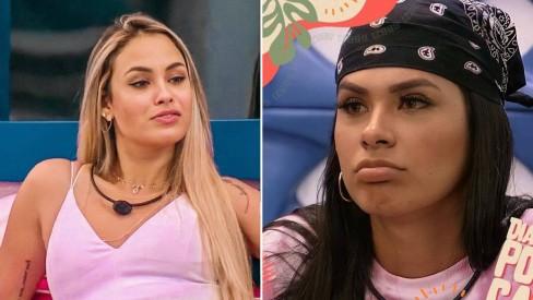 sarah e pocah - BBB21:Irmão de Pocah abre o jogo após revelação de Sarah, revela porque elas não se gostam e choca web; confira