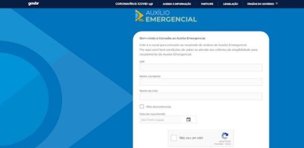 SharedScreenshot e1614805349593 - CPF deve mostrar saldo do auxílio emergencial de 4 parcelas de R$ 250 através do DATAPREV. Saiba como