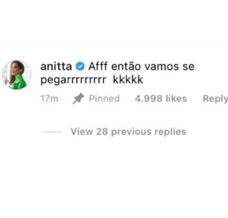 anitta comenta sobre juliette 166 450x430 - BBB21: Juliette fala de Anitta, em conversa e cantora 'REAGE' e manda recado OUSADO para sister; Vídeo