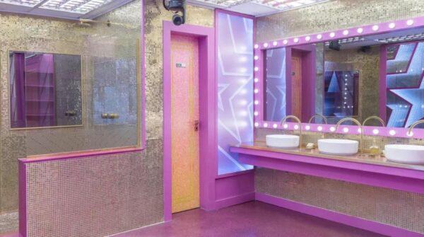 bbb 2021 banheiro e inspirado em camarim  e1614665114374 - Produção do BBB21 'vaza áudio' de Arthur dentro do banheiro privativo
