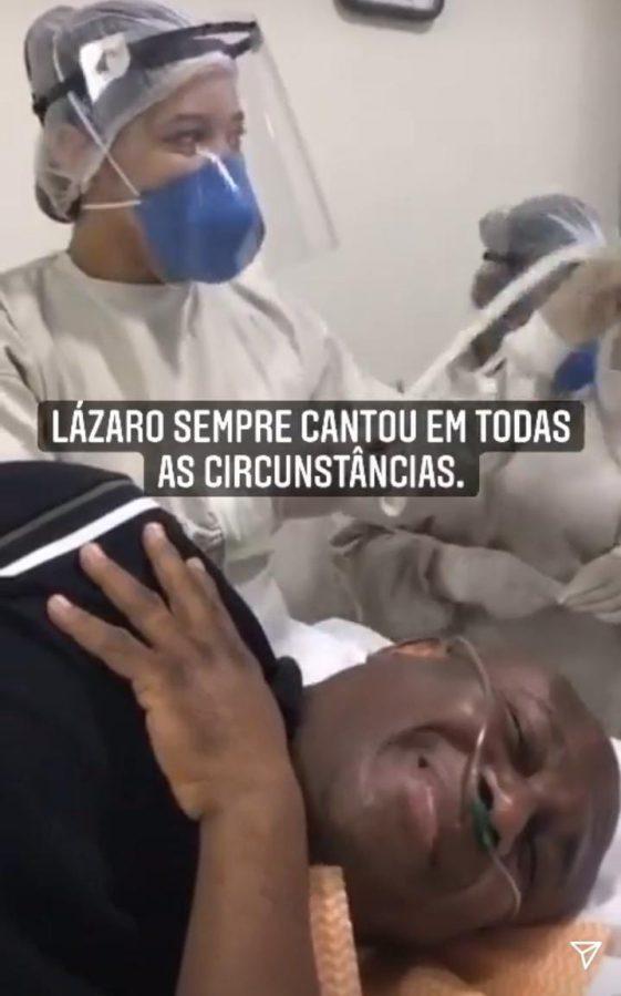 lazaro - Vídeo de Enfermeira cantando com Irmão Lazaro enquanto o prepara para exame, viraliza. Assista!