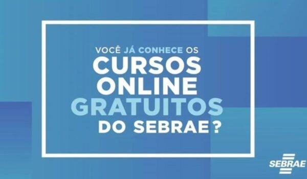 sebrae cursos online e1614830706602 - Sebrae abre inscrições para vagas em cursos gratuitos EAD; Veja como se Inscrever .