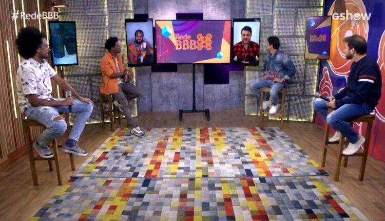 mesa bbb241 750x430 - BBB21: Reação de João e Caio ao ouvir sobre fama de Juliette que já ultrapassa a marca de 22 milhões de seguidores no Instagram