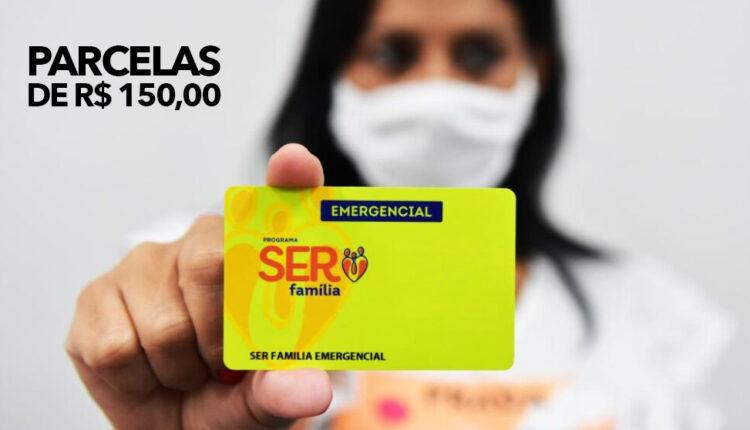 Carta%CC%83o Ser Fami%CC%81lia Emergencial 750x430 - Mais de 1,7 mil famílias recebem o beneficio do Cartão 'Ser Família Emergencial', Confira