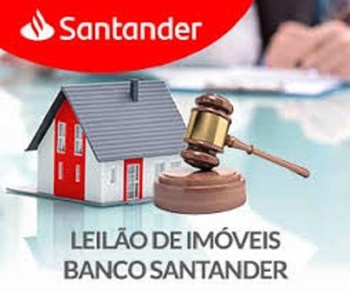 leilao imoveis santander - Banco Santander anuncia leilão de imóveis com lances a partir de R$ 51 mil; Confira como participar.